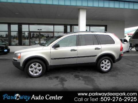 2003 Volvo XC90 for sale at PARKWAY AUTO CENTER AND RV in Deer Park WA