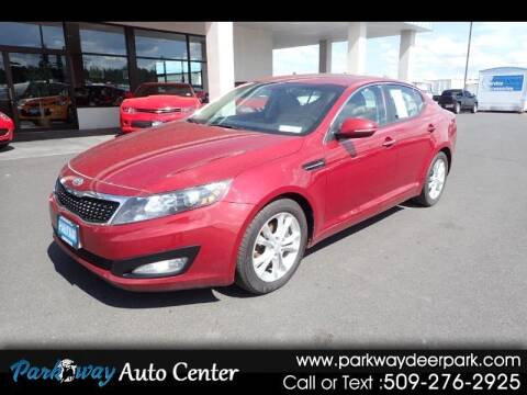 2012 Kia Optima for sale at PARKWAY AUTO CENTER AND RV in Deer Park WA
