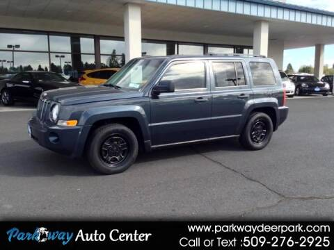 2008 Jeep Patriot for sale at PARKWAY AUTO CENTER AND RV in Deer Park WA