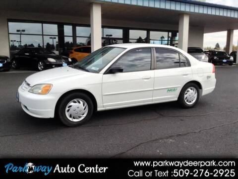 2003 Honda Civic for sale at PARKWAY AUTO CENTER AND RV in Deer Park WA