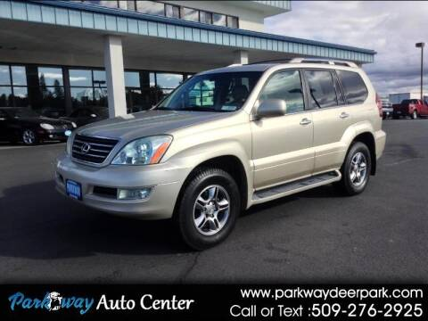 2008 Lexus GX 470 for sale at PARKWAY AUTO CENTER AND RV in Deer Park WA