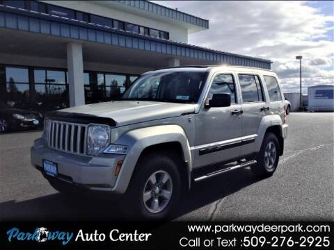 2008 Jeep Liberty for sale at PARKWAY AUTO CENTER AND RV in Deer Park WA