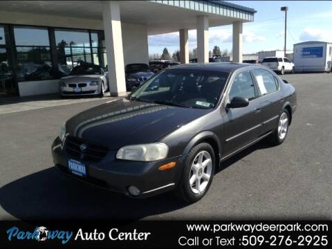 2000 Nissan Maxima for sale at PARKWAY AUTO CENTER AND RV in Deer Park WA