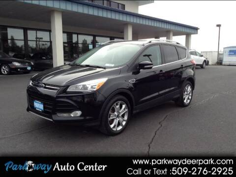 2016 Ford Escape for sale at PARKWAY AUTO CENTER AND RV in Deer Park WA