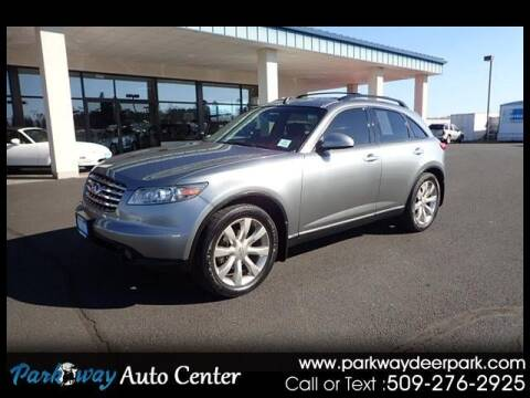 2003 Infiniti FX35 for sale at PARKWAY AUTO CENTER AND RV in Deer Park WA