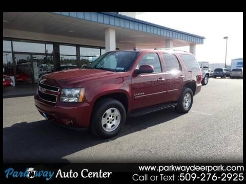 2008 Chevrolet Tahoe for sale at PARKWAY AUTO CENTER AND RV in Deer Park WA