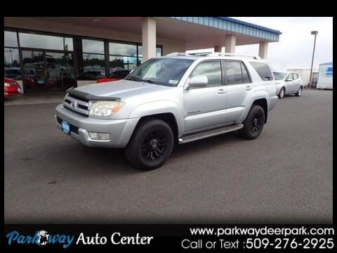 2004 Toyota 4Runner for sale at PARKWAY AUTO CENTER AND RV in Deer Park WA