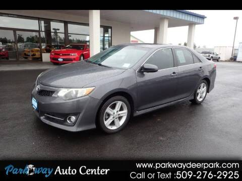 2012 Toyota Camry for sale at PARKWAY AUTO CENTER AND RV in Deer Park WA