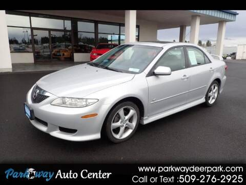 2004 Mazda MAZDA6 for sale at PARKWAY AUTO CENTER AND RV in Deer Park WA