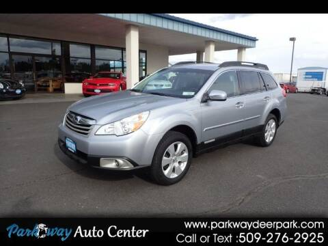 2012 Subaru Outback for sale at PARKWAY AUTO CENTER AND RV in Deer Park WA