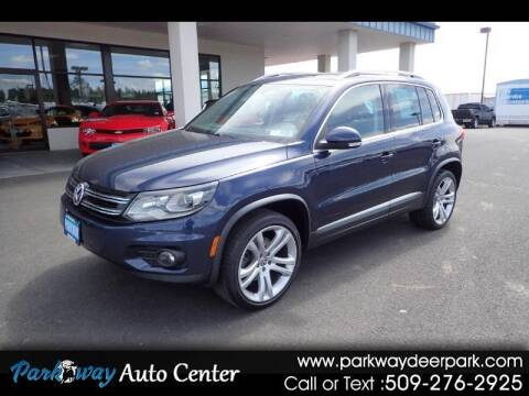 2012 Volkswagen Tiguan for sale at PARKWAY AUTO CENTER AND RV in Deer Park WA
