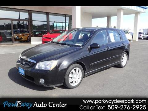 2006 Kia Spectra for sale at PARKWAY AUTO CENTER AND RV in Deer Park WA
