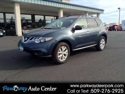 2012 Nissan Murano for sale at PARKWAY AUTO CENTER AND RV in Deer Park WA