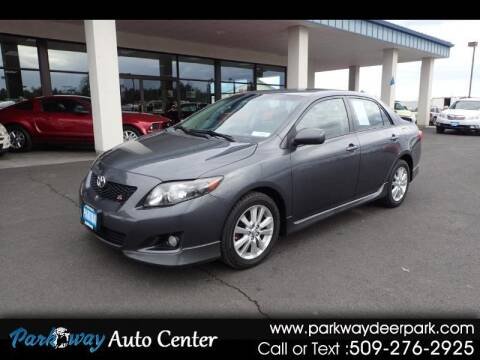 2010 Toyota Corolla for sale at PARKWAY AUTO CENTER AND RV in Deer Park WA