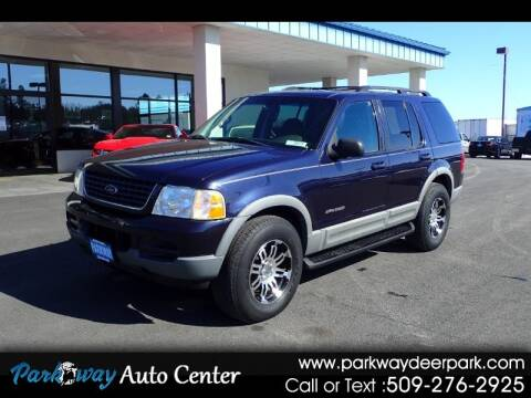 2002 Ford Explorer for sale at PARKWAY AUTO CENTER AND RV in Deer Park WA