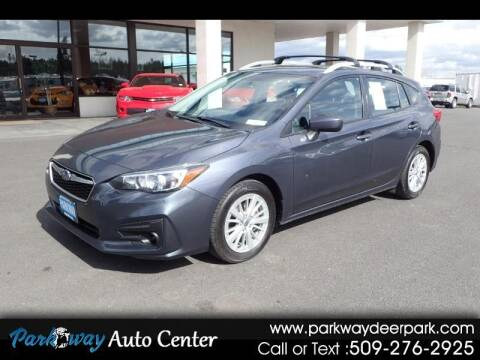 2017 Subaru Impreza for sale at PARKWAY AUTO CENTER AND RV in Deer Park WA