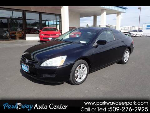 2003 Honda Accord for sale at PARKWAY AUTO CENTER AND RV in Deer Park WA