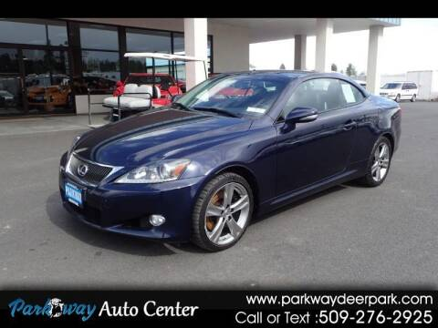 2012 Lexus IS 350C for sale at PARKWAY AUTO CENTER AND RV in Deer Park WA