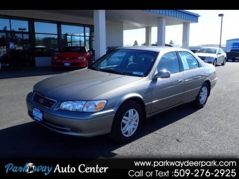 2001 Toyota Camry for sale at PARKWAY AUTO CENTER AND RV in Deer Park WA