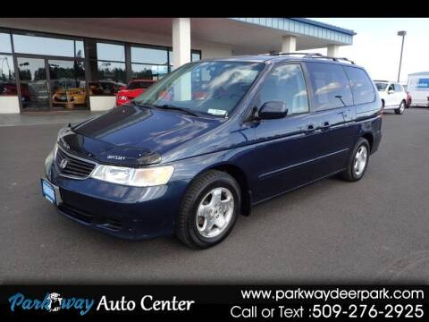 1999 Honda Odyssey for sale at PARKWAY AUTO CENTER AND RV in Deer Park WA