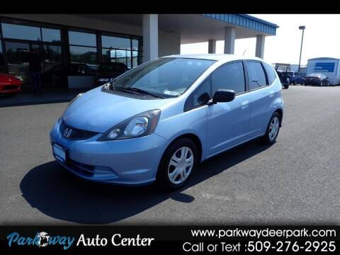2009 Honda Fit for sale at PARKWAY AUTO CENTER AND RV in Deer Park WA