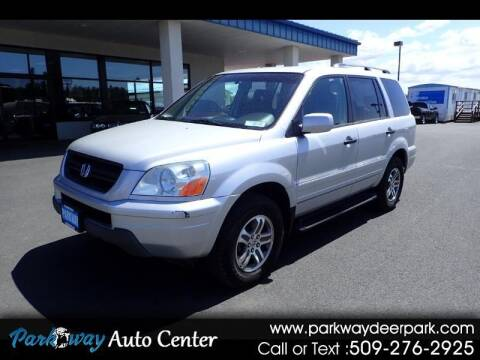 2004 Honda Pilot for sale at PARKWAY AUTO CENTER AND RV in Deer Park WA