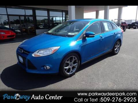 2014 Ford Focus for sale at PARKWAY AUTO CENTER AND RV in Deer Park WA