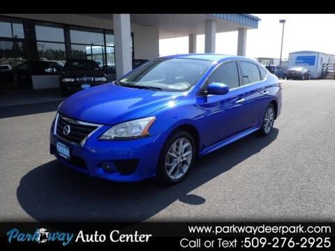 2014 Nissan Sentra for sale at PARKWAY AUTO CENTER AND RV in Deer Park WA
