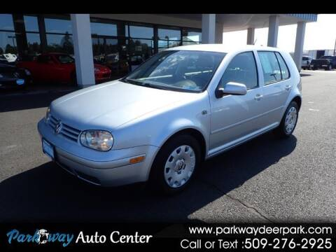 2003 Volkswagen Golf for sale at PARKWAY AUTO CENTER AND RV in Deer Park WA