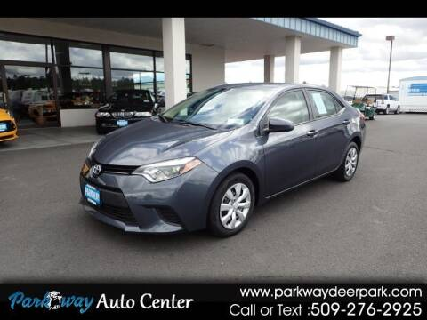 2014 Toyota Corolla for sale at PARKWAY AUTO CENTER AND RV in Deer Park WA