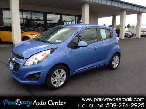 2014 Chevrolet Spark for sale at PARKWAY AUTO CENTER AND RV in Deer Park WA