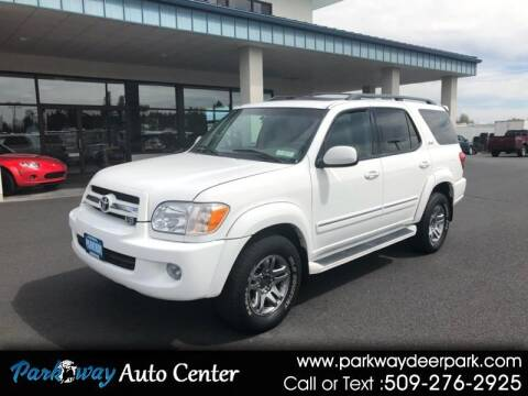 2006 Toyota Sequoia for sale at PARKWAY AUTO CENTER AND RV in Deer Park WA