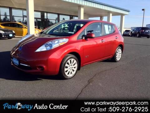 2013 Nissan LEAF for sale at PARKWAY AUTO CENTER AND RV in Deer Park WA