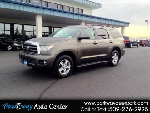2008 Toyota Sequoia for sale at PARKWAY AUTO CENTER AND RV in Deer Park WA