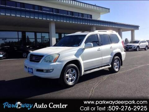 2004 Lexus GX 470 for sale at PARKWAY AUTO CENTER AND RV in Deer Park WA