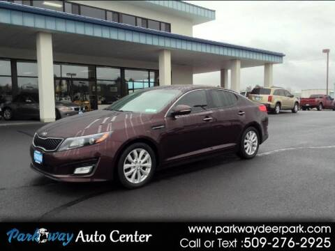 2015 Kia Optima for sale at PARKWAY AUTO CENTER AND RV in Deer Park WA