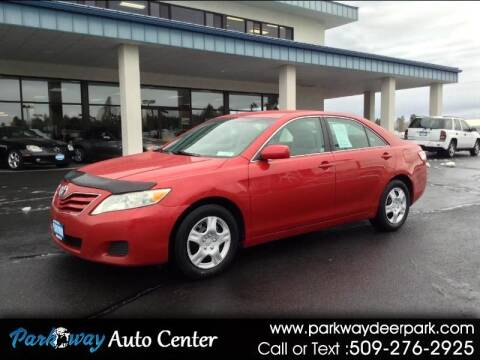 2010 Toyota Camry for sale at PARKWAY AUTO CENTER AND RV in Deer Park WA