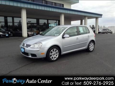 2009 Volkswagen Rabbit for sale at PARKWAY AUTO CENTER AND RV in Deer Park WA