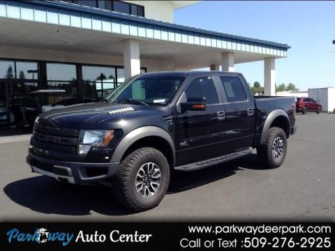 2012 Ford F-150 for sale at PARKWAY AUTO CENTER AND RV in Deer Park WA