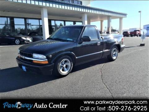 1999 Chevrolet S-10 for sale at PARKWAY AUTO CENTER AND RV in Deer Park WA