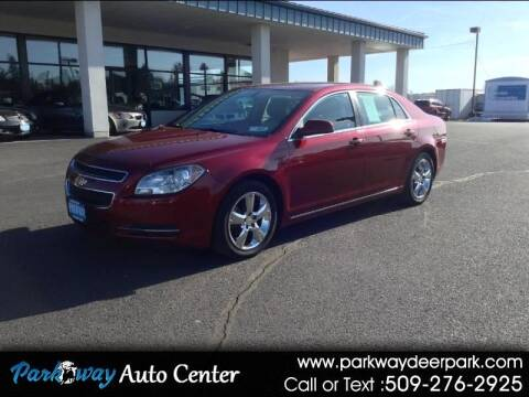 2010 Chevrolet Malibu for sale at PARKWAY AUTO CENTER AND RV in Deer Park WA