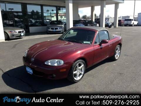 2003 Mazda MX-5 Miata for sale at PARKWAY AUTO CENTER AND RV in Deer Park WA