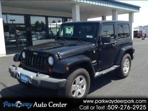 2008 Jeep Wrangler for sale at PARKWAY AUTO CENTER AND RV in Deer Park WA