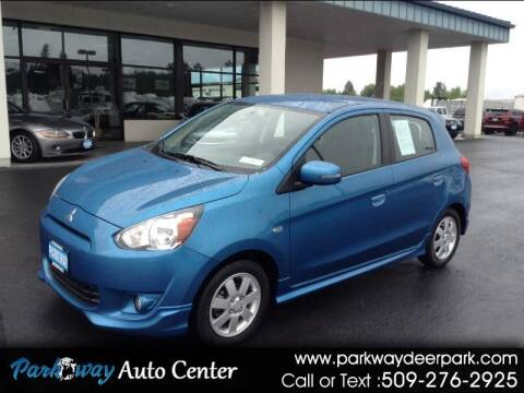 2015 Mitsubishi Mirage for sale at PARKWAY AUTO CENTER AND RV in Deer Park WA