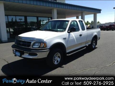 1997 Ford F-150 for sale at PARKWAY AUTO CENTER AND RV in Deer Park WA