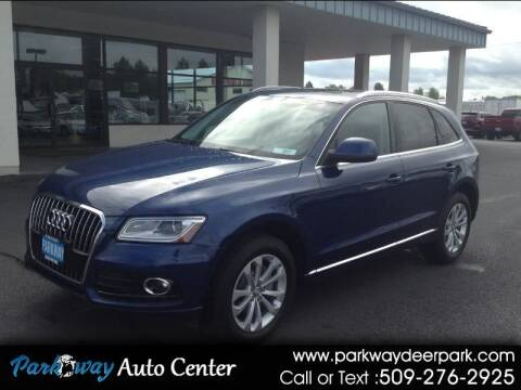 2014 Audi Q5 for sale at PARKWAY AUTO CENTER AND RV in Deer Park WA