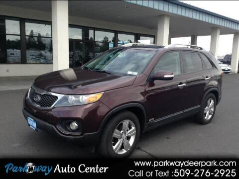 2013 Kia Sorento for sale at PARKWAY AUTO CENTER AND RV in Deer Park WA