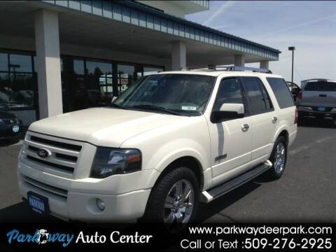 2007 Ford Expedition for sale at PARKWAY AUTO CENTER AND RV in Deer Park WA