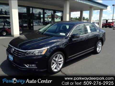 2017 Volkswagen Passat for sale at PARKWAY AUTO CENTER AND RV in Deer Park WA