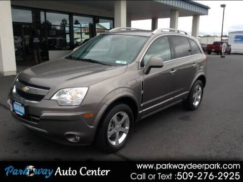 2012 Chevrolet Captiva Sport for sale at PARKWAY AUTO CENTER AND RV in Deer Park WA